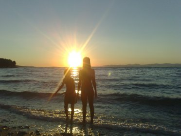 plaža, mirca, gromela, brač, brac, more, jadran