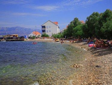 beach, mirca, brac, sea, adria, gromela, dalmatia