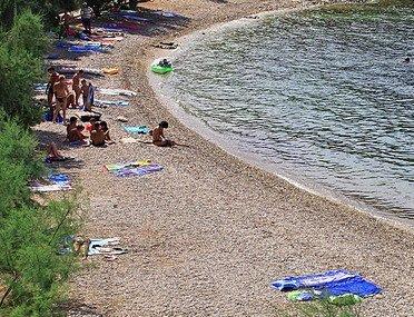 beach, seaside, sea, mirca, brac, adria, dalmatia